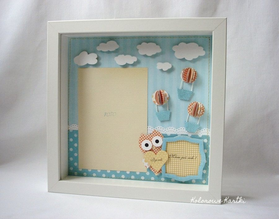 3D Ikea frame with orange owl | handmade paper things and ideas ...