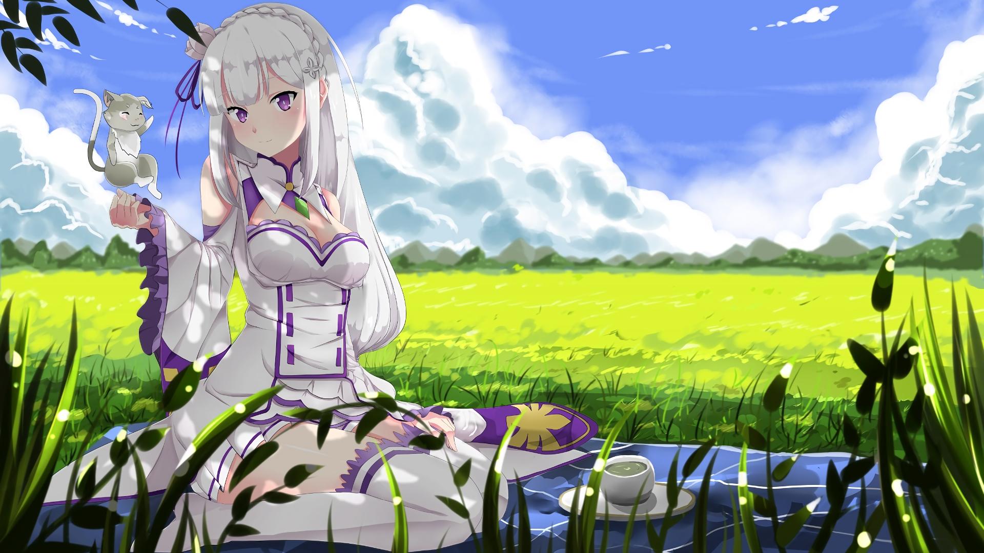 Re:ZERO: Neue Figur von Emilia und Puck vorgestellt