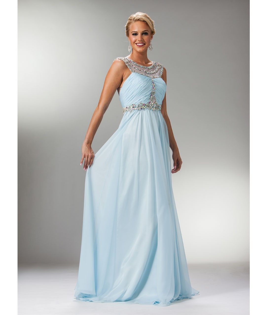 light blue satin dress plus size