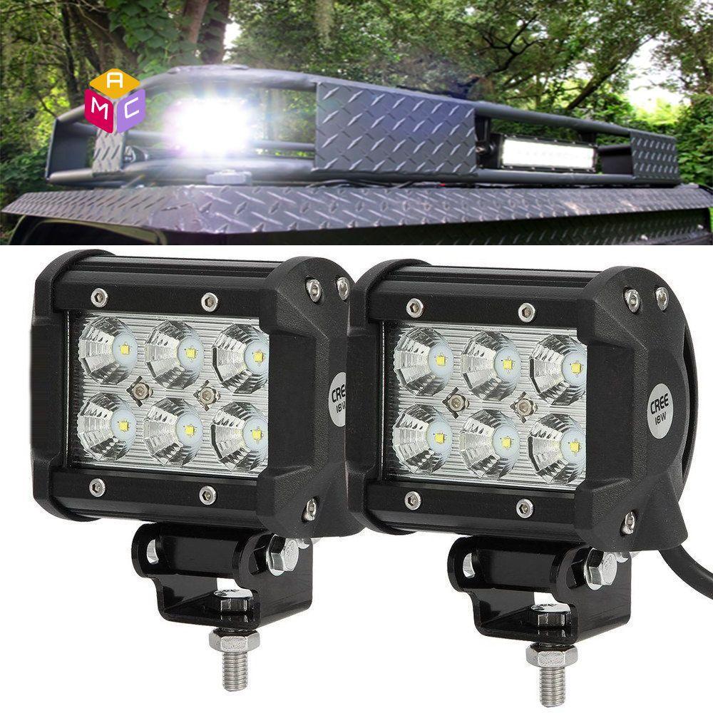 Bright Light Bar Polaris RZR Side X Side ATV Quad 4 Wheeler 500 700 ...