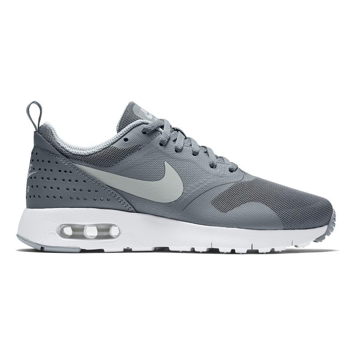 "Nike Air Max Tavas ""Grey/White"" Grade School Boys' Casual"