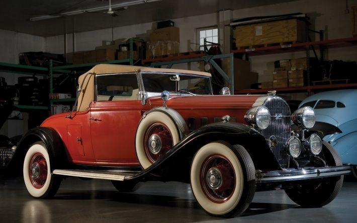 1932 Buick Model 33 Fifty Convertible Coupe