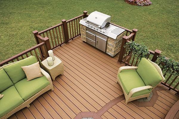 Terrasse Et Cloture Decks Backyard Building A Deck Patio