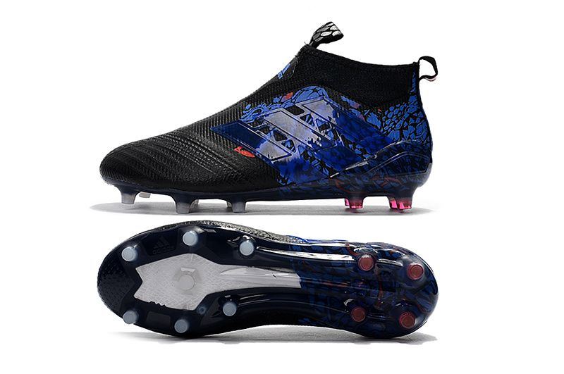best sneakers 0aa3d 2af5e adidas ACE 17+ Purecontrol FG UCL Dragon - Mens Boots - Firm Ground - Core  BlackBlue