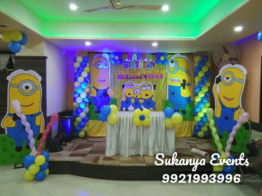 Birthday Party Decoration Packages In Pune