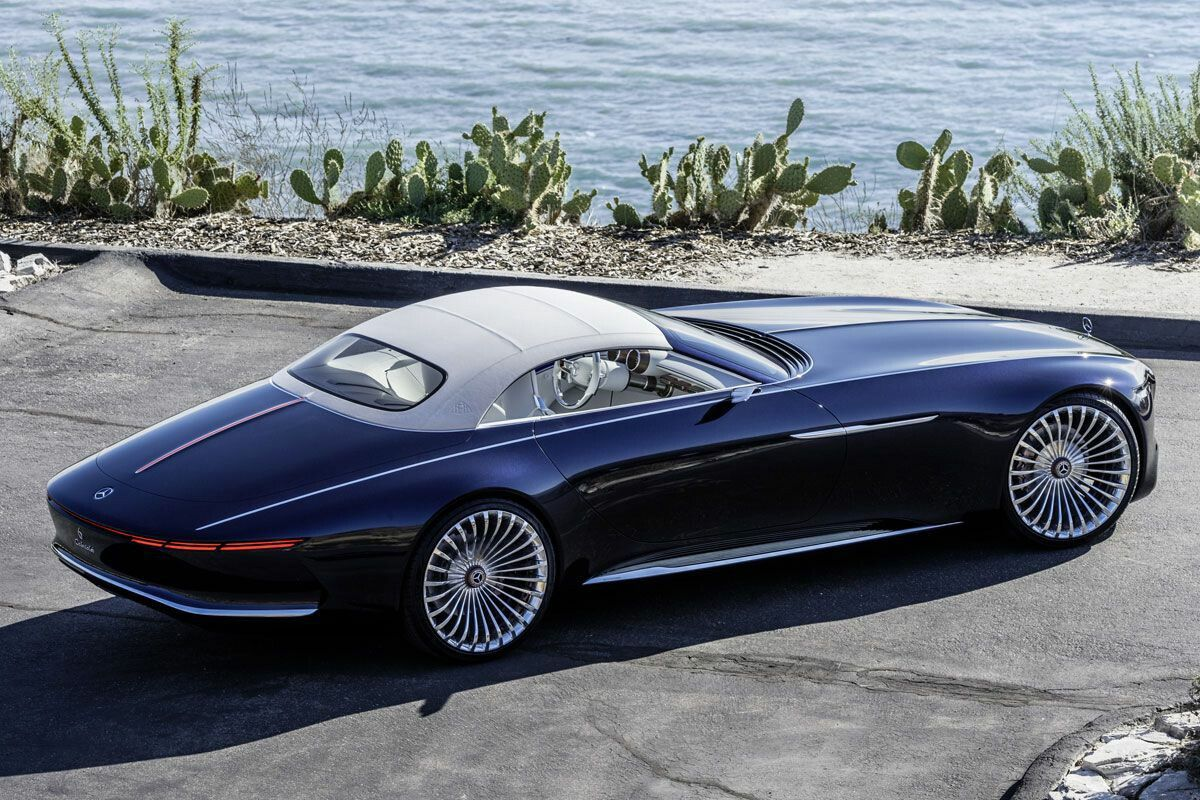 Maybach vision cabriolet luxury cars pinterest maybach