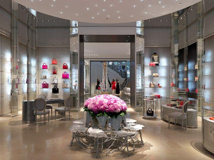 Dior Taipei 101 flagship store by Pure Creative, Taipei store design