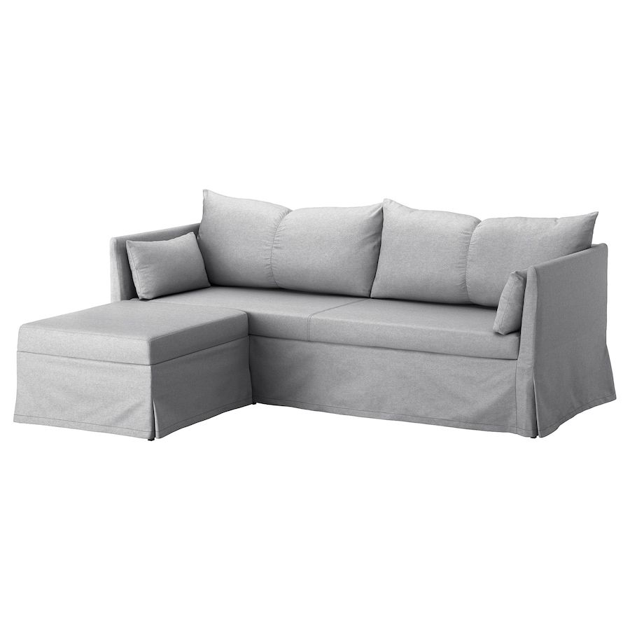 Sandbacken Sleeper Sectional 3 Seat Frillestad Light Gray Ikea In 2020 Sleeper Sectional Corner Sofa Bed Sectional