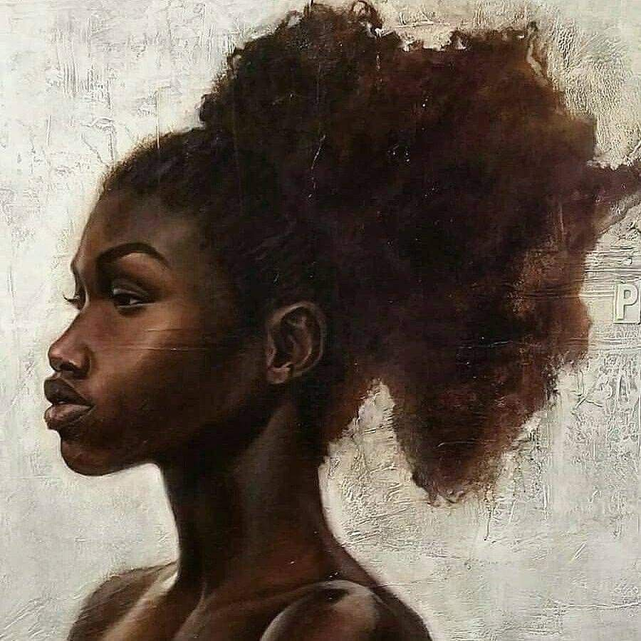 """""""Proud, Her Name of Mother Africa"""" painting by Kevin"""