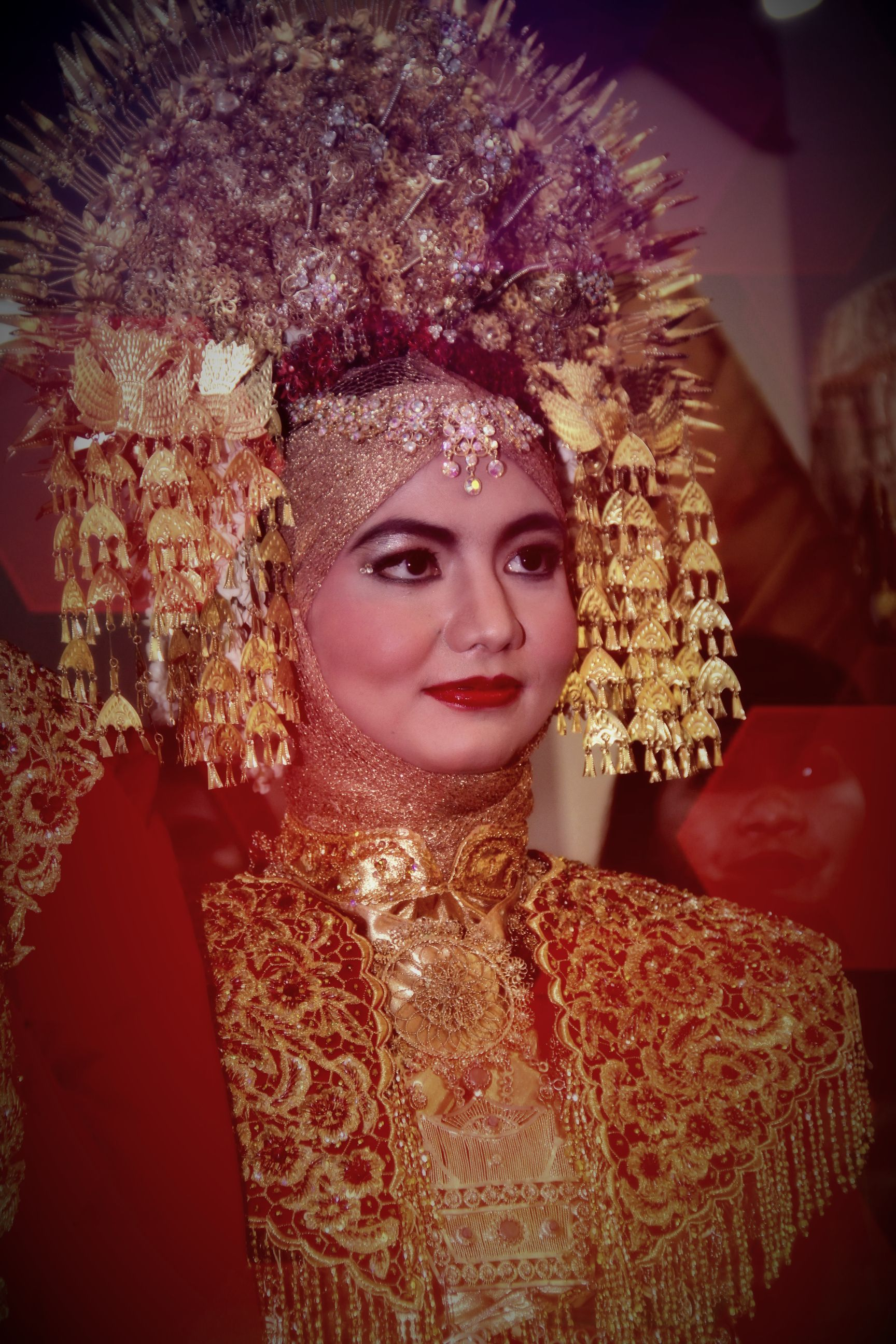 My reception make up wedding minang makeup