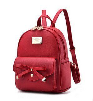 7551b9805591 COOL WALKER Fashion Women Backpack For Girls New Backpacks Black Backpacks  Female Small Girls Bags Ladies Leather Backpacks Moch