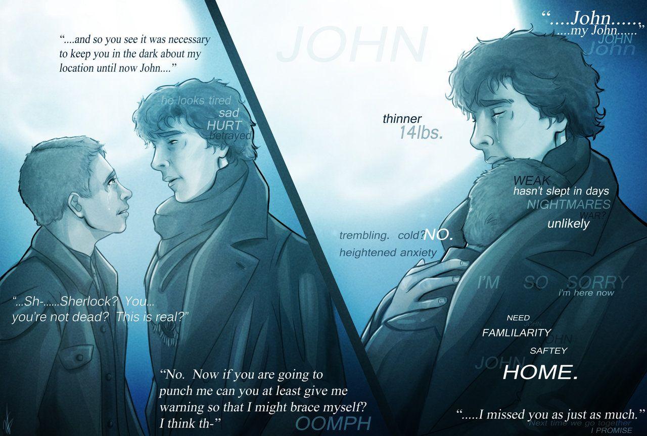 Long Overdue Return by voydkessler  Sherlock's deductions