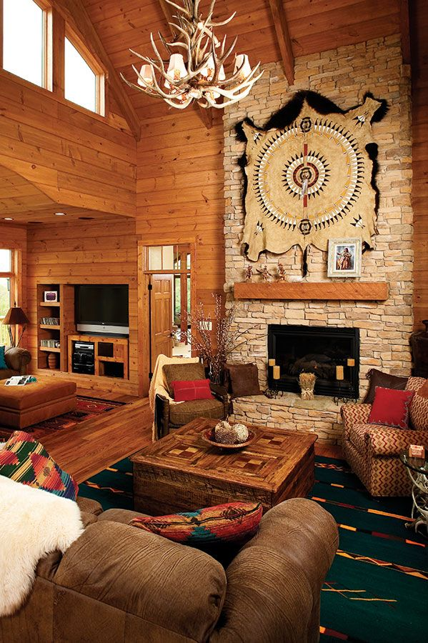 Pin By Don Gardner Architects On Glorious Great Rooms Southwestern Decorating Southwestern