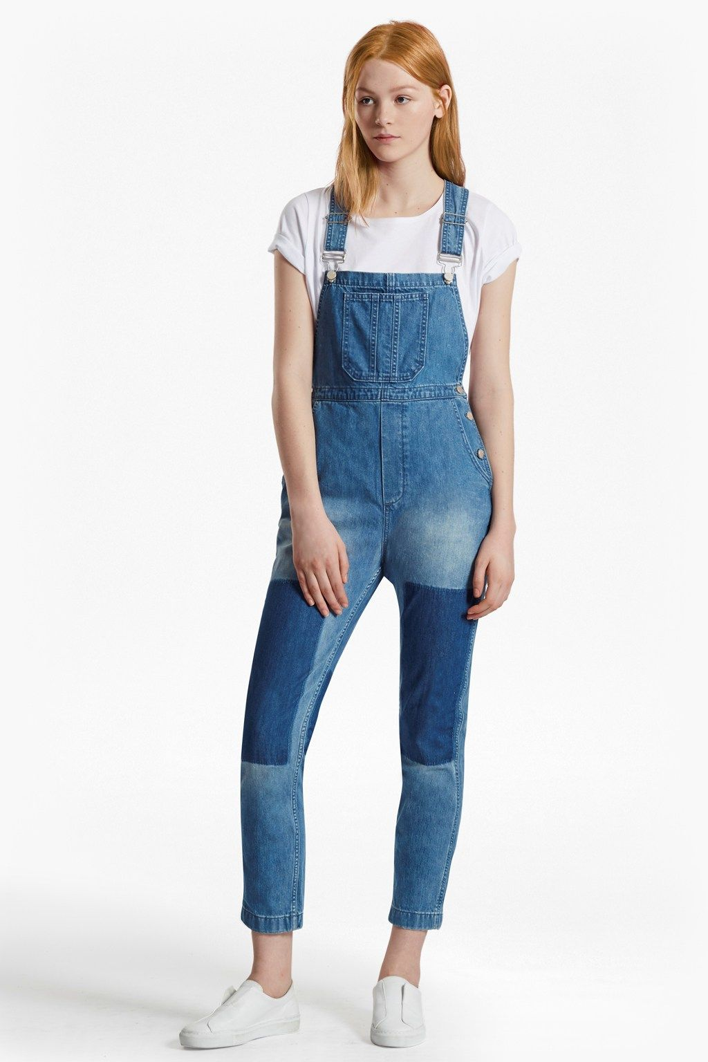 Blue Shadow Dungarees | Jumpsuits | French Connection Usa
