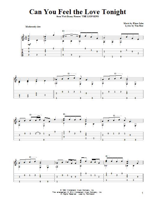 partition guitare elton john