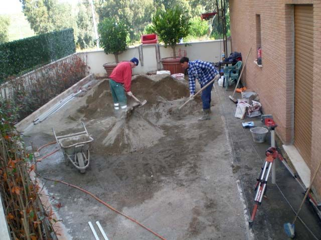 Massetto per esterno pavimenti a roma pavimenti in legno a roma pinterest searching - Asciugatura massetto per piastrelle ...