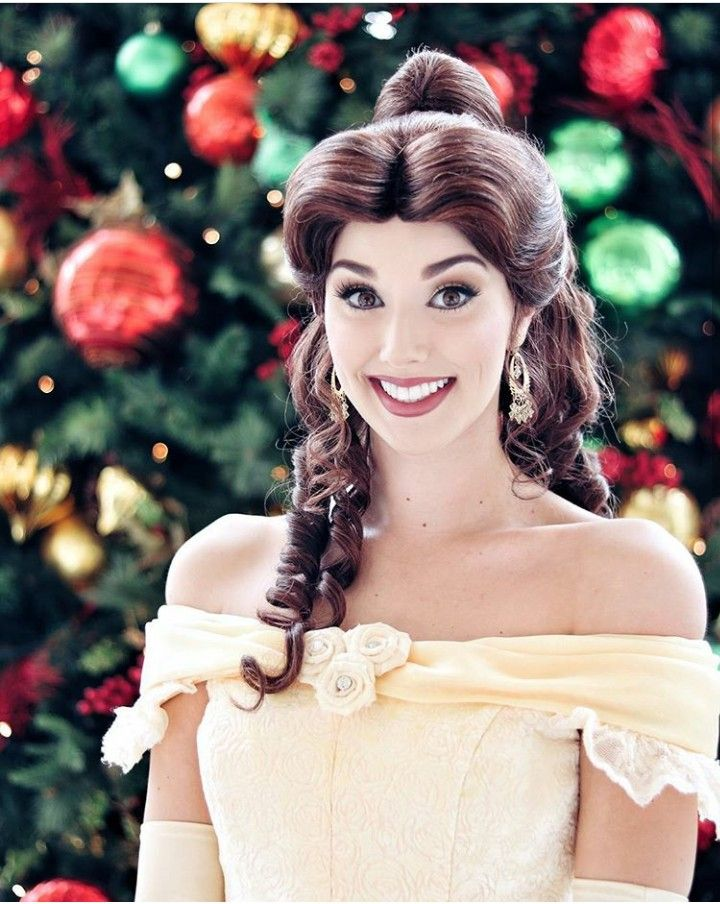 Belle during Christmas