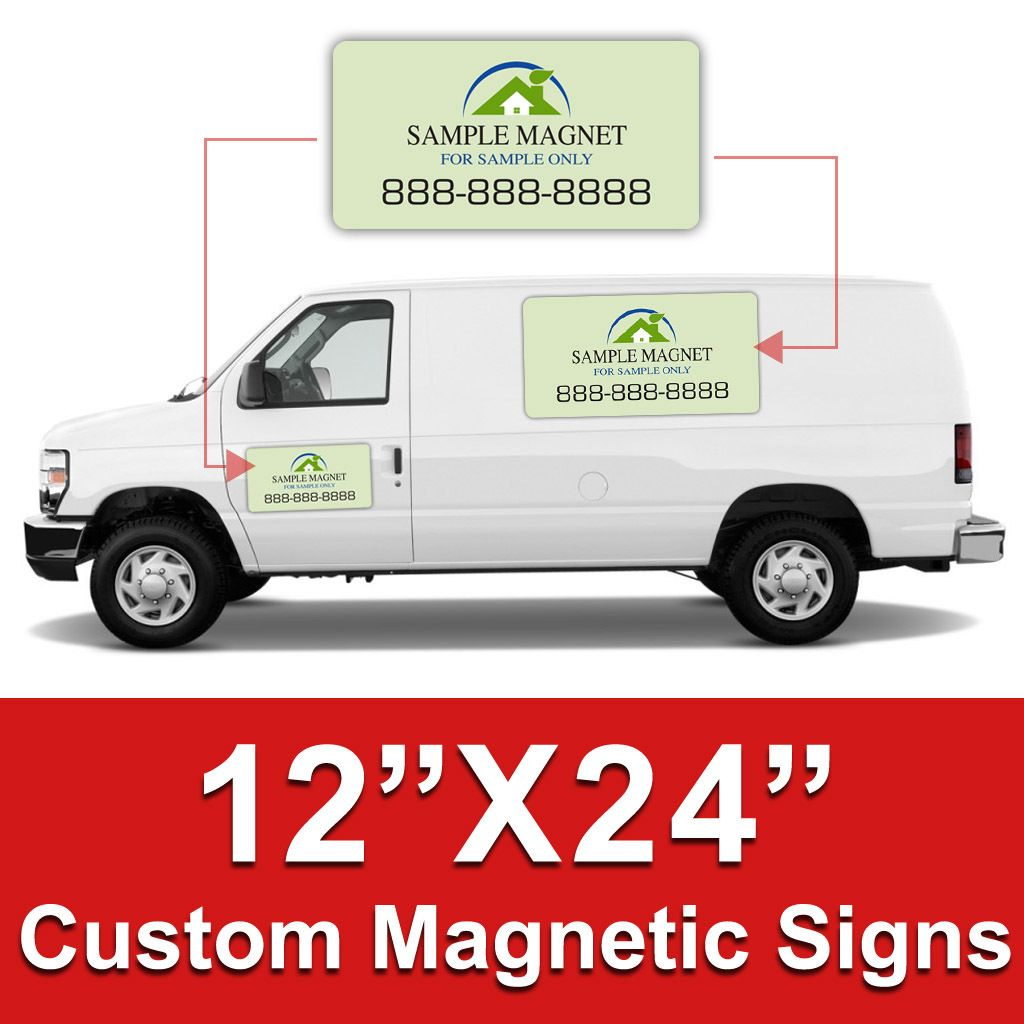 X Car Magnets Custom Magnetic Signs Car Magnets Banner - Custom oval car magnets   promote your brand