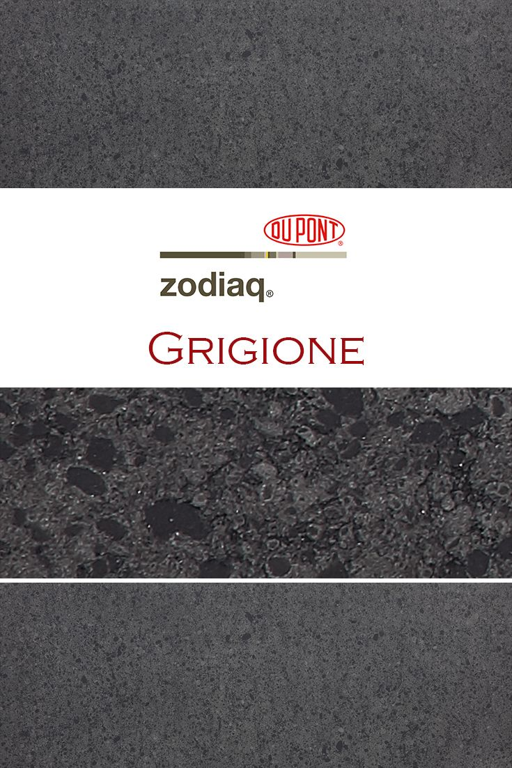 Grigione By Zodiaq Is Perfect For A Kitchen Quartz Countertop Installation Quartz Kitchen Countertops How To Install Countertops Quartz Kitchen