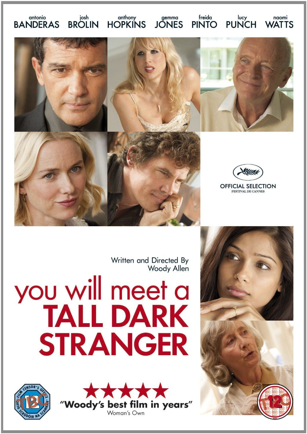 You Will Meet a Tall Dark Stranger [2010]