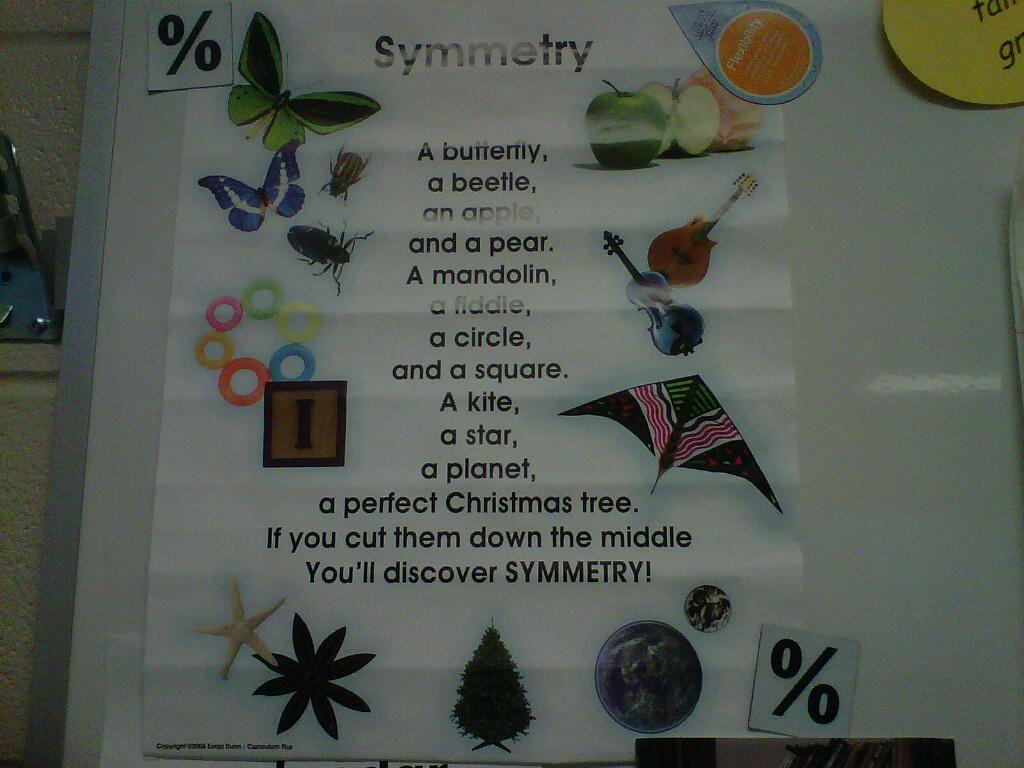Symmetry Poem