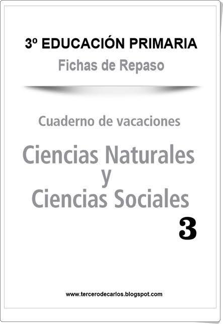 Ciencias Sociales De Primaria   U0026quot Cuaderno De Vacaciones De