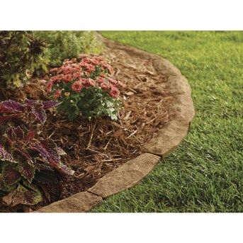 Photo of Lowe's Chiseledge Ashland Straight Edging Stone (Common: 10-in x 4-in; Actual: 10-in x 3.5-in) in Brown | 102102