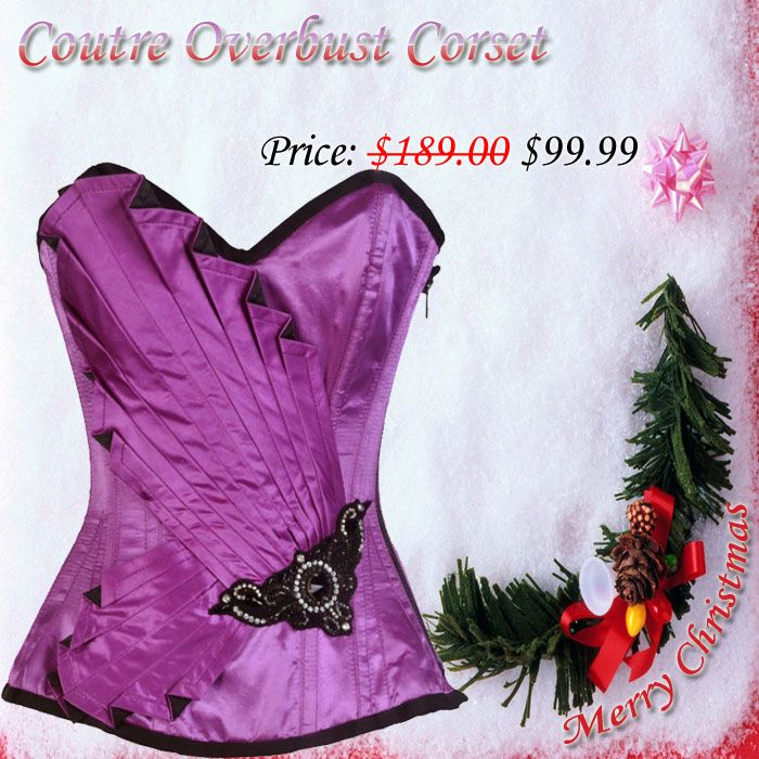 CT-9577 Coutre Overbust Corset