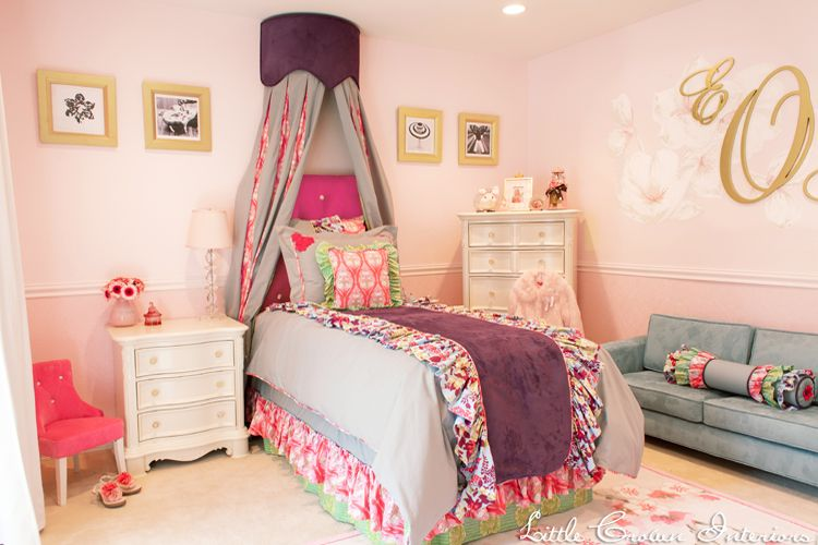 Pink And Purple Bedroom girls pink bedrooms - moncler-factory-outlets