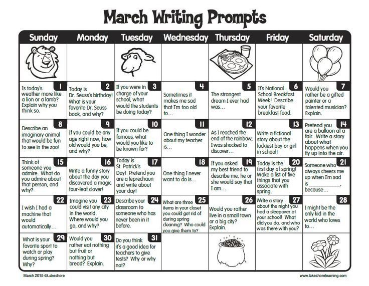 Writing process pre writing activities for 5th grade