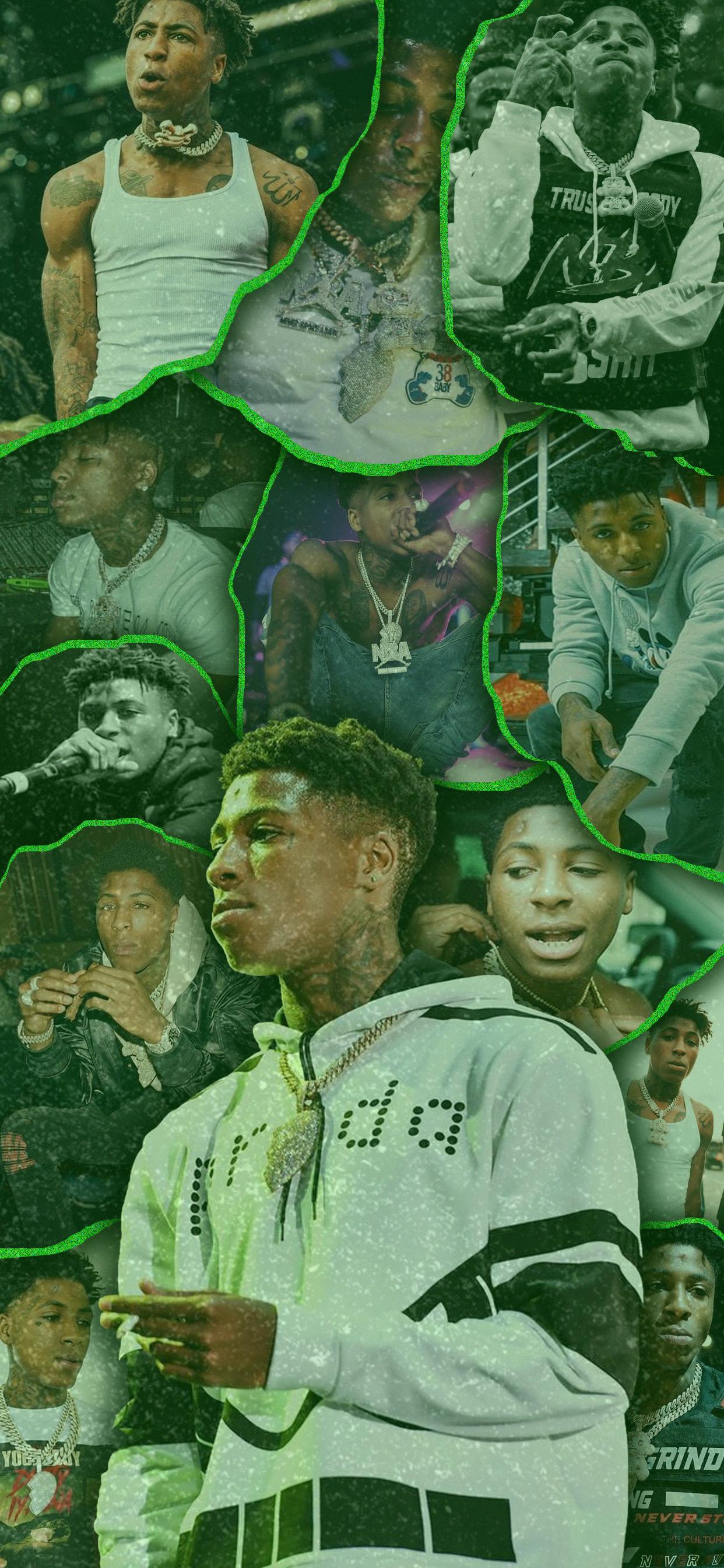 NBA YoungBoy Lockscreen in 2020 Rapper wallpaper iphone