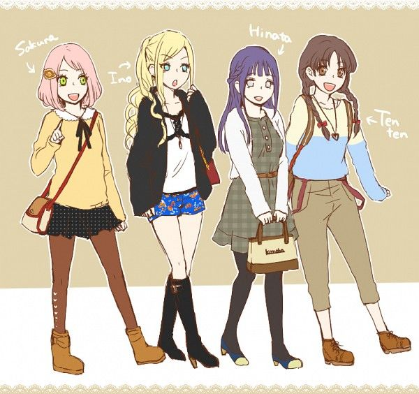 naruto girls go shopping