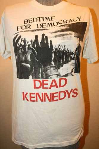 lady LOGO NEW T-SHIRT FRUIT OF THE LOOM woman Dead Kennedys  damen