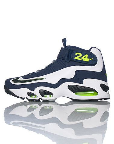 Comfortable 183633 Nike Air Griffey Max I Men Black Blue White Shoes