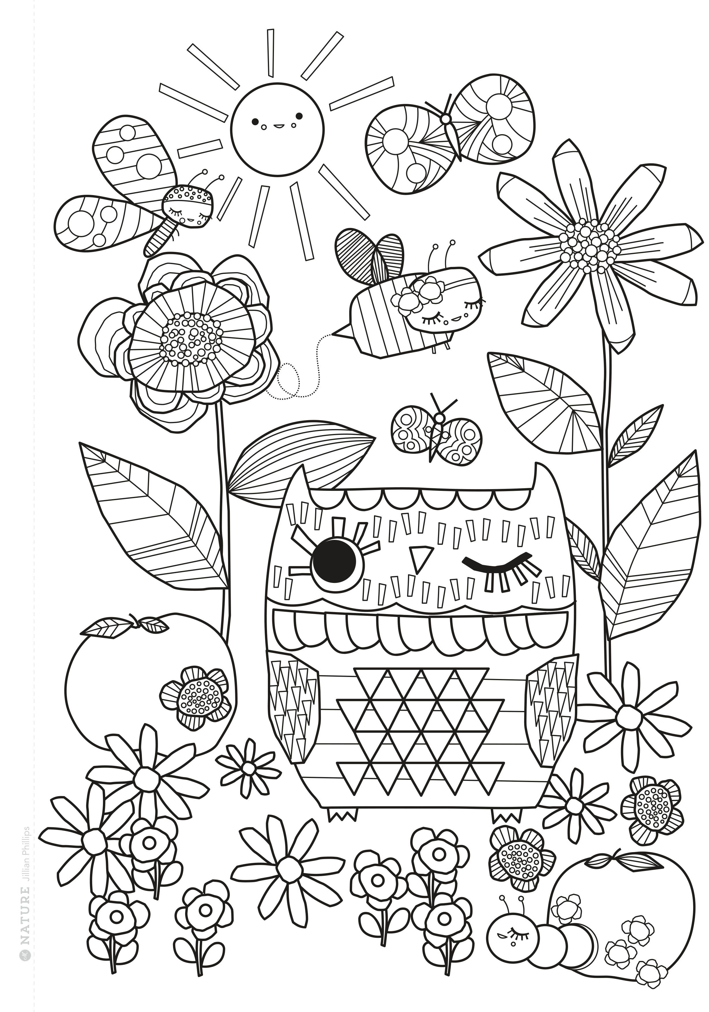 Mollie Makes Colouring Book