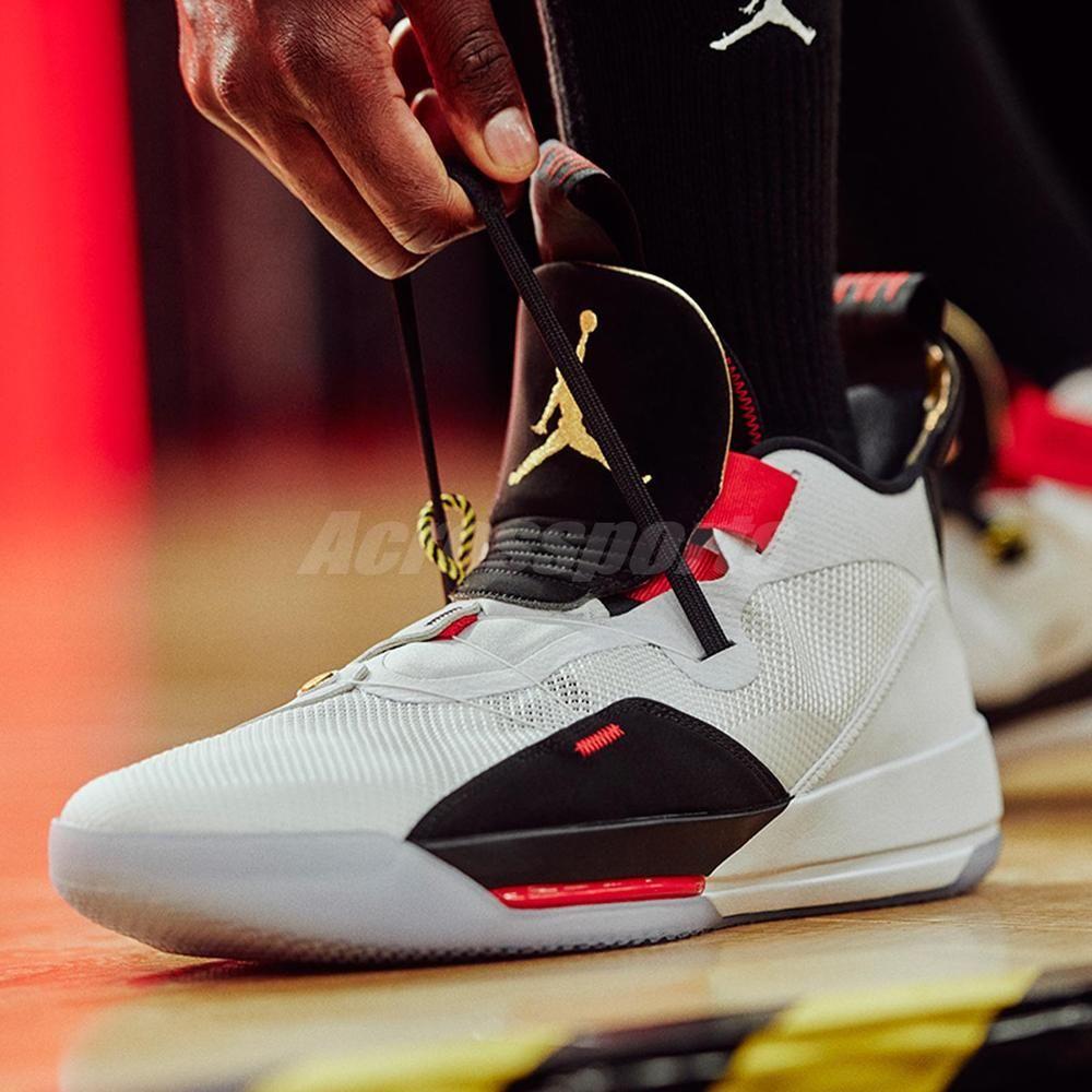 748943dbdc45b1 Nike Air Jordan XXXIII PF 33 Future of Flight Mens Basketball Shoes  BV5072-100