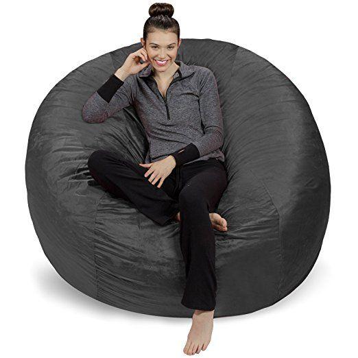 Amazon Sofa Sack Bean BagsGiant Bag 6 Camel