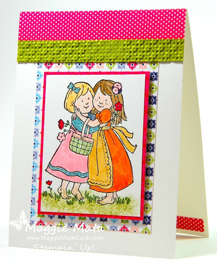 A Retirement Hug with Pals Paper Arts #135