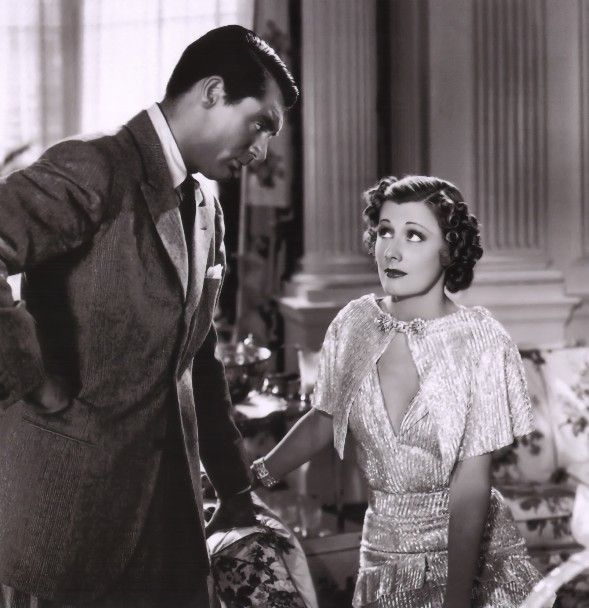 Irene Dunne and Cary Grant, masters of the Screw Ball Comedy
