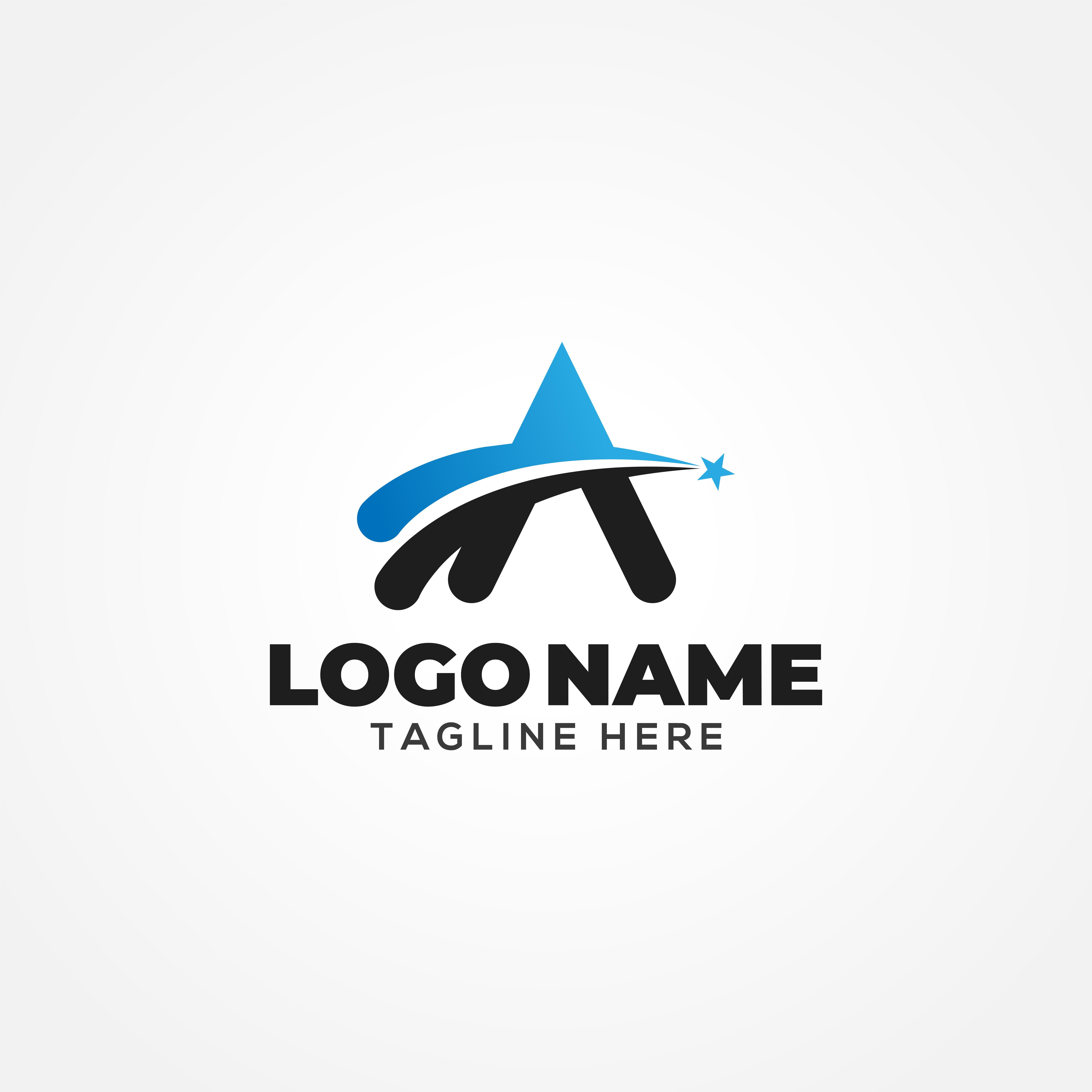 Letter A Logo Design logo_design, graphic_design, logo