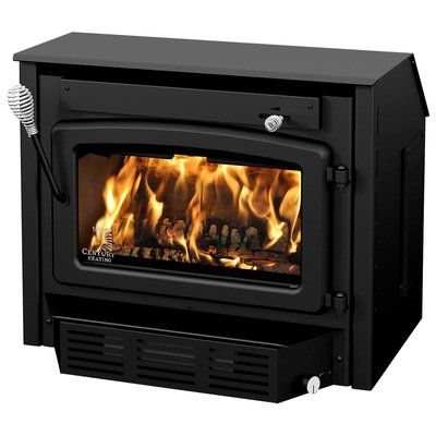 Century Heating High-Efficiency Wood Stove Fireplace ...