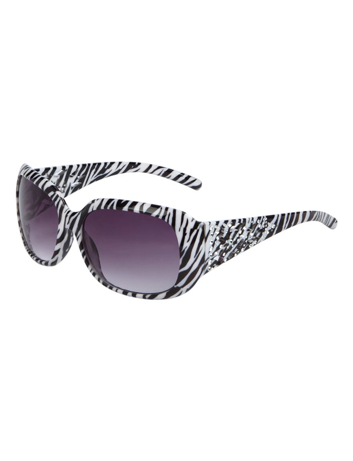 c687e76c077f5 Zebra Oval Sunglasses | Sunglasses & Cases | Accessories | Shop Justice