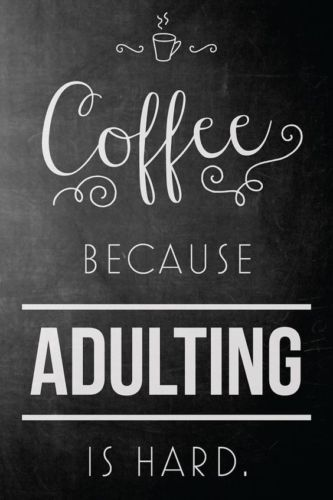 Details about Coffee Quote Home decor wall cloth high quality Canvas print art gift #quotesaboutcoffee