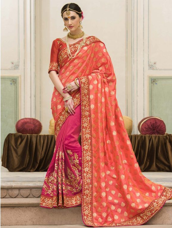 Indian Wedding Saree Latest Designs Trends 2018 2019 Collection