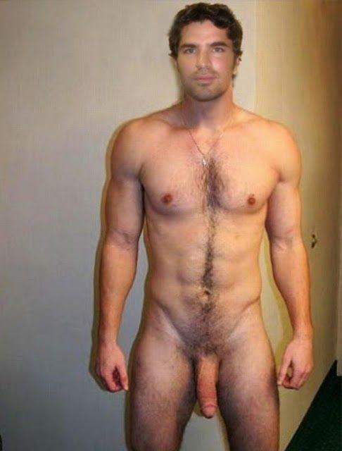 Estrella masculina desnuda de la foto del pene