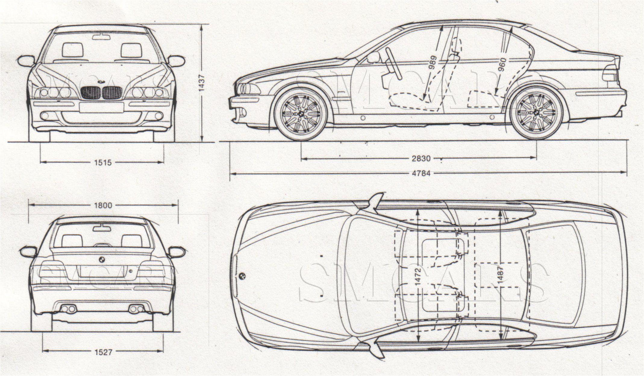 Tutorials3D.com - Blueprints: BMW M5