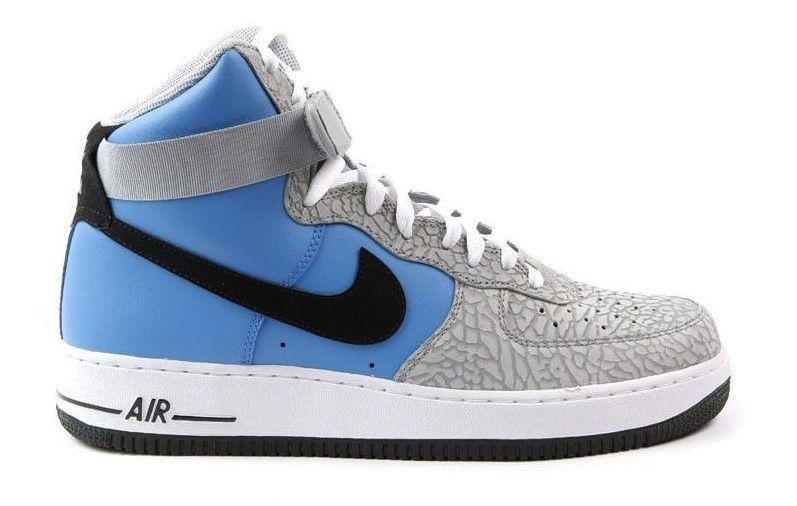 Nike Air Force 1 High 07 Photo Blue Elephant Print AF1