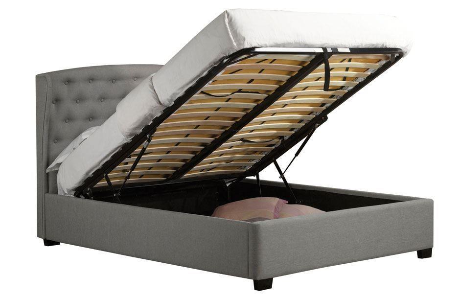 Astonishing Sweet Dreams Toronto Ottoman Double Bed Winged Headboard Ibusinesslaw Wood Chair Design Ideas Ibusinesslaworg