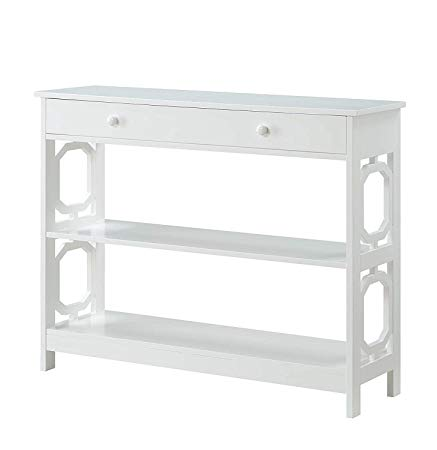 Amazon Com Convenience Concepts Console Table White Kitchen Dining In 2020 Johar Furniture Console Table Entryway Table Decor