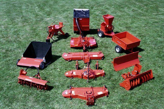 42a 2013 Ingersoll Tractor Attachments Tractors Garden Tractor Attachments